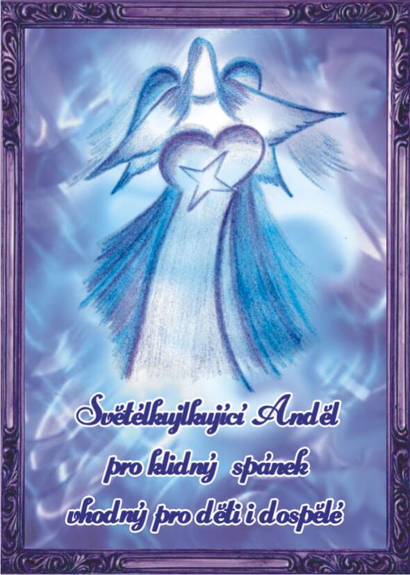 Andělská Karta S Modlitbou – Anděl Pro Klidný Spánek
