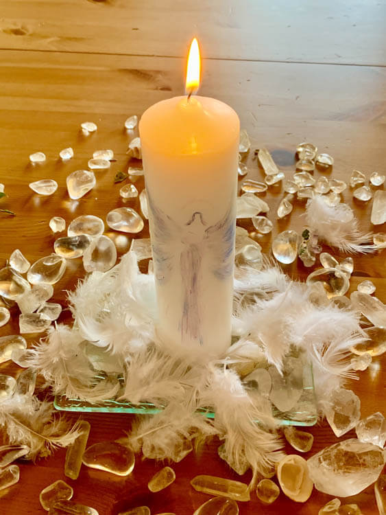 Svíčka Setkání S Andělem Strážným